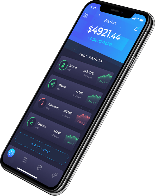 <strong>Cryptowallet</strong> is a secure digital multi-currency wallet.<br />