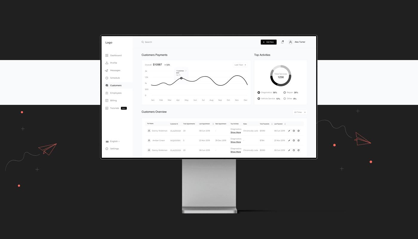 ux wireframe web design