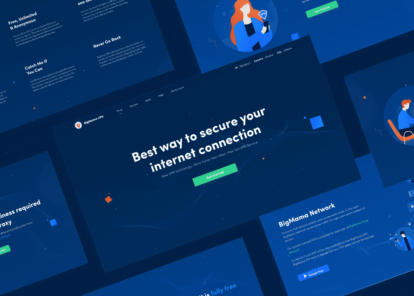 how to design a good landing page
