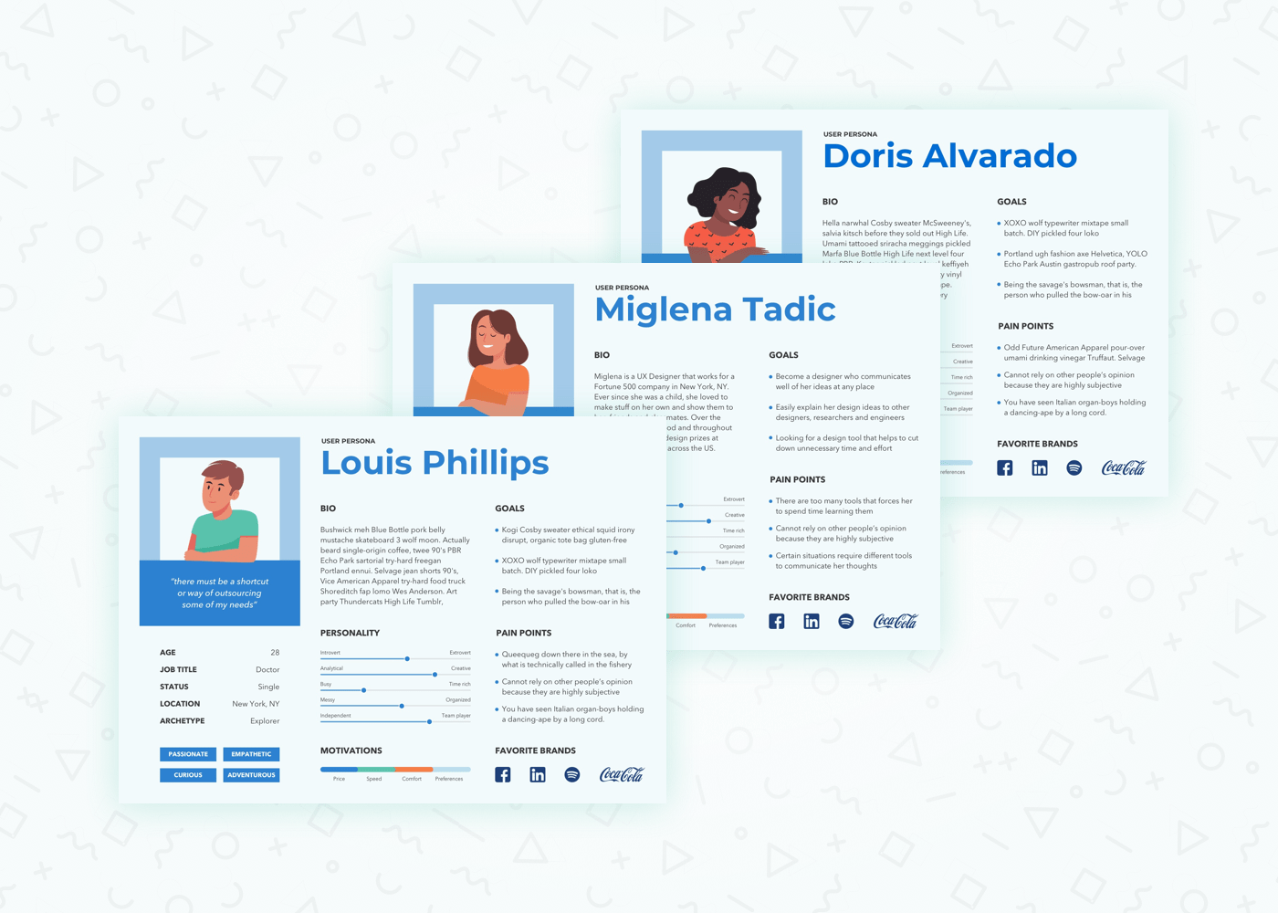 UX audit insights about users