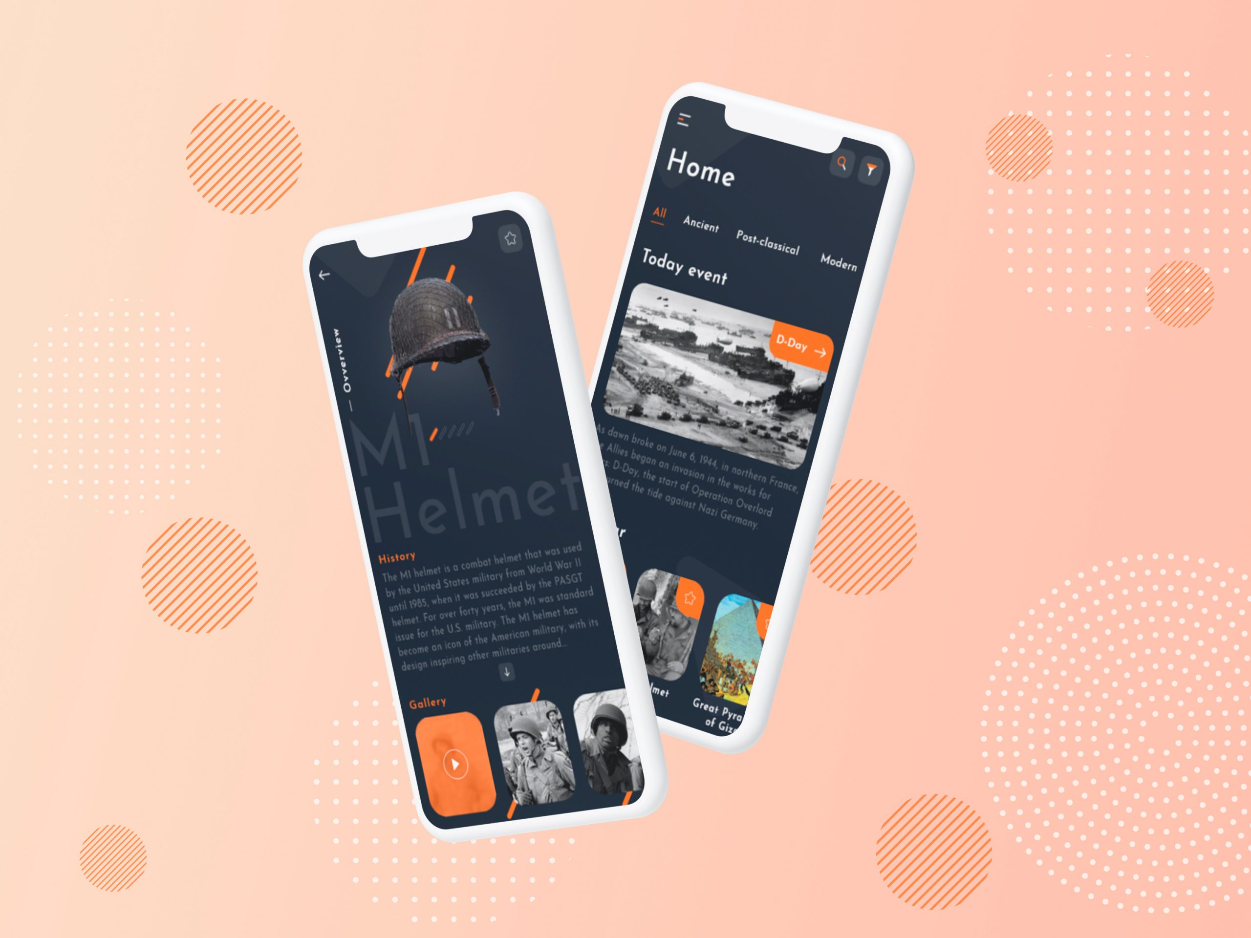 flat design emphasis on color example