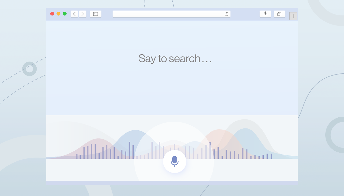 ecommerce web design voice search