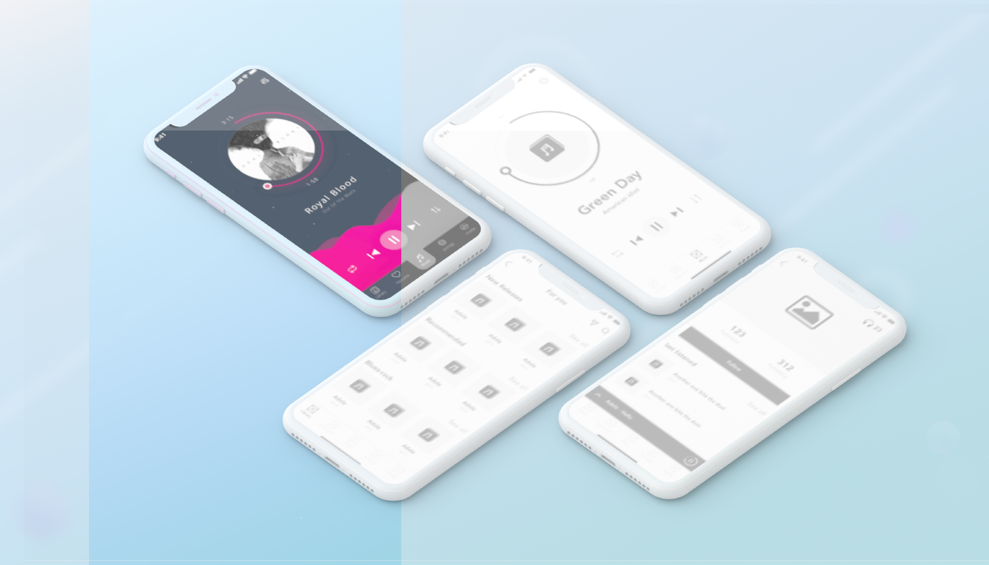 focus on grayscale first in ui colors