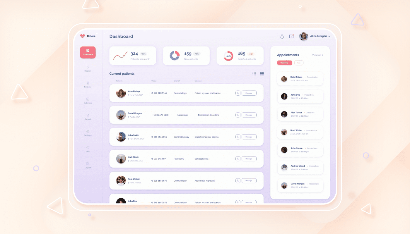 dashboard ui design simplicity