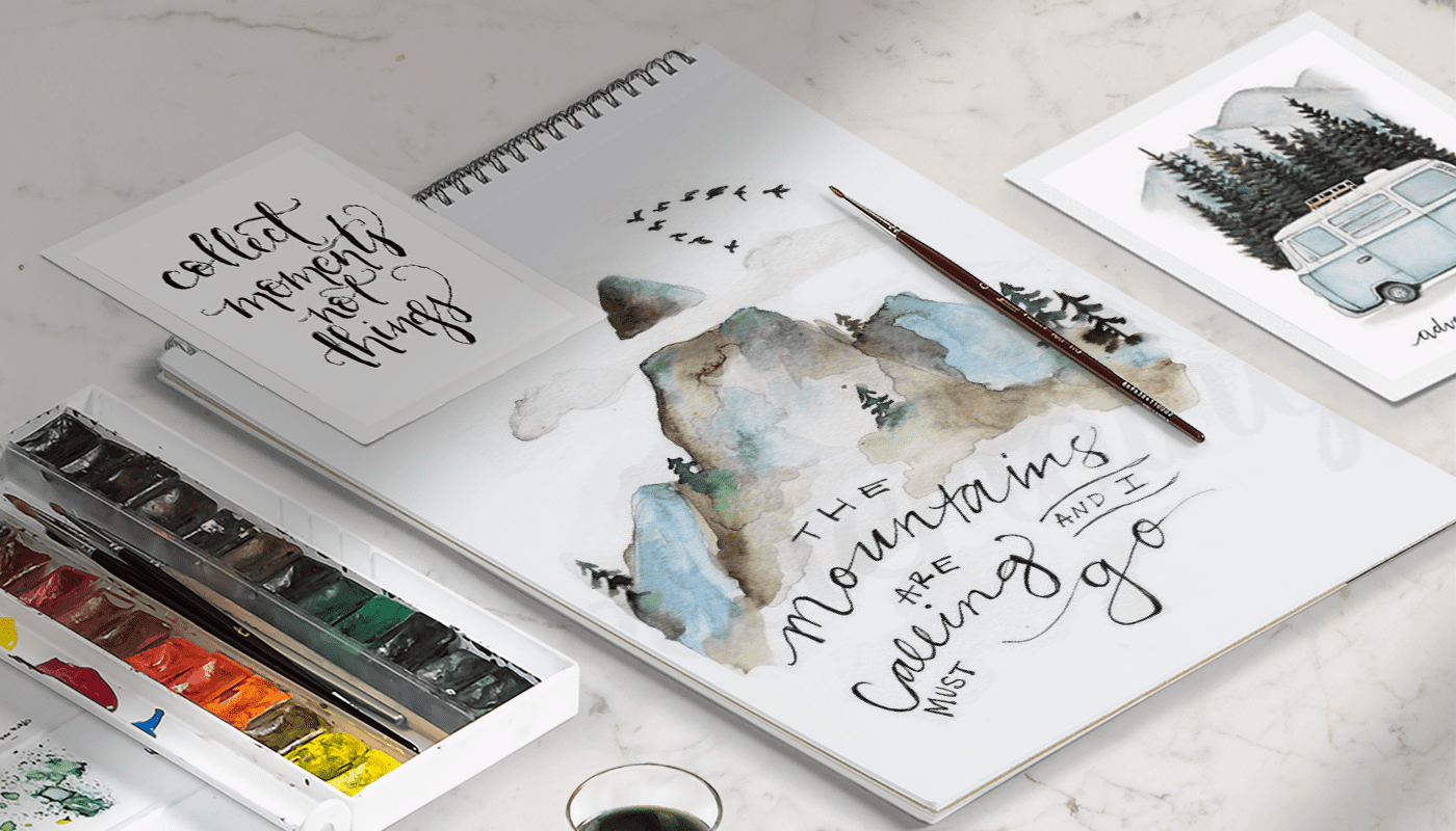 how to create a mood board with proper words