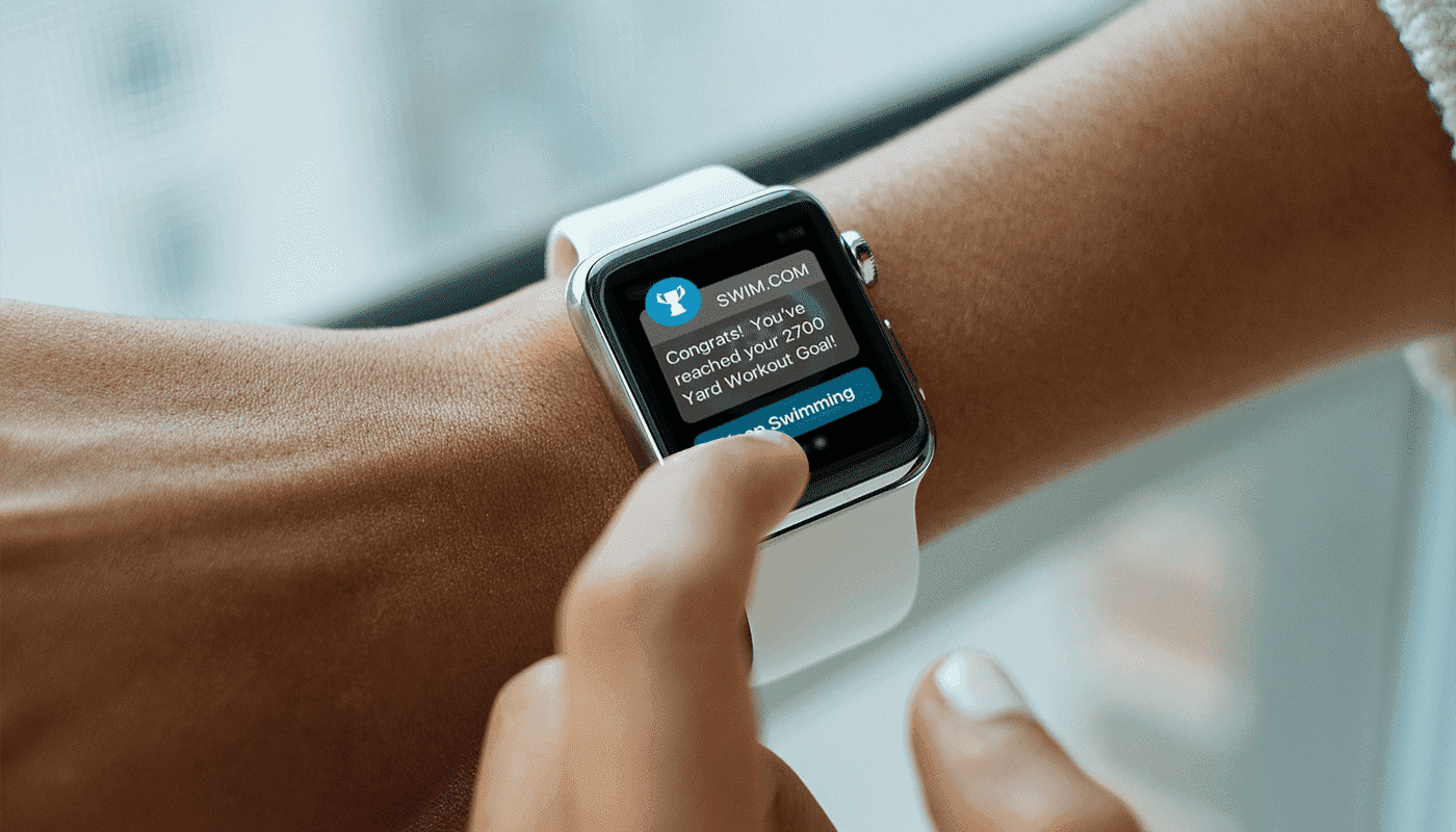 UX writing example on Apple Watch