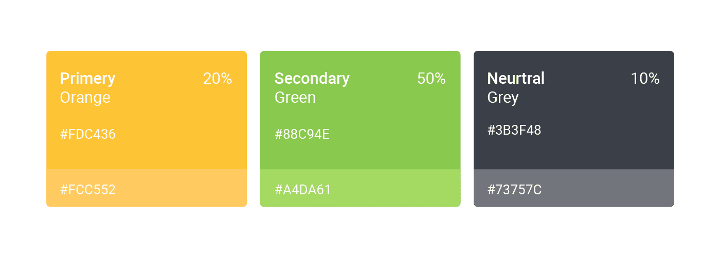 choose right colors for a style guide