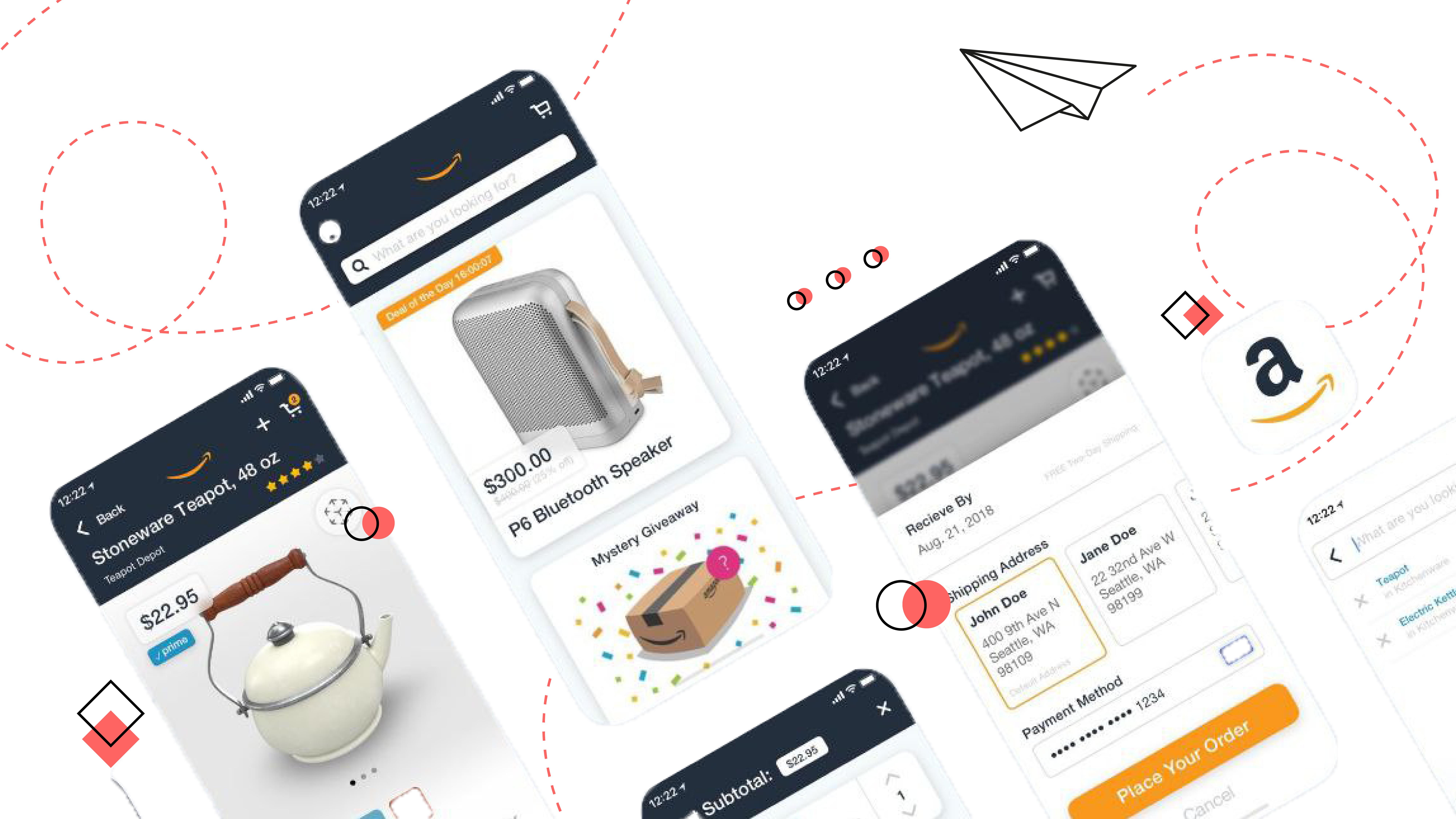 amazon User Interface kit  example