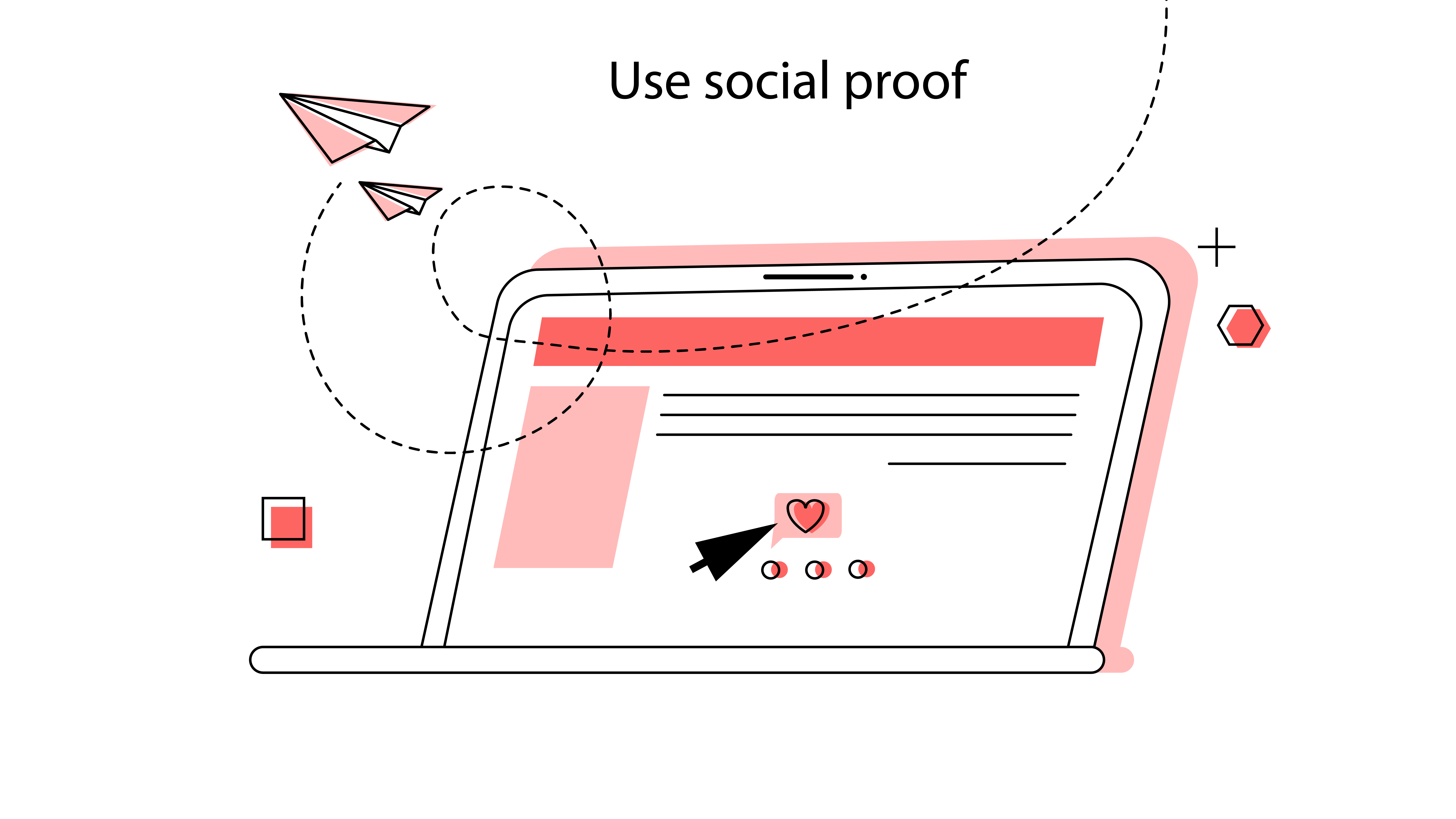 social proofs will make a web design improvement