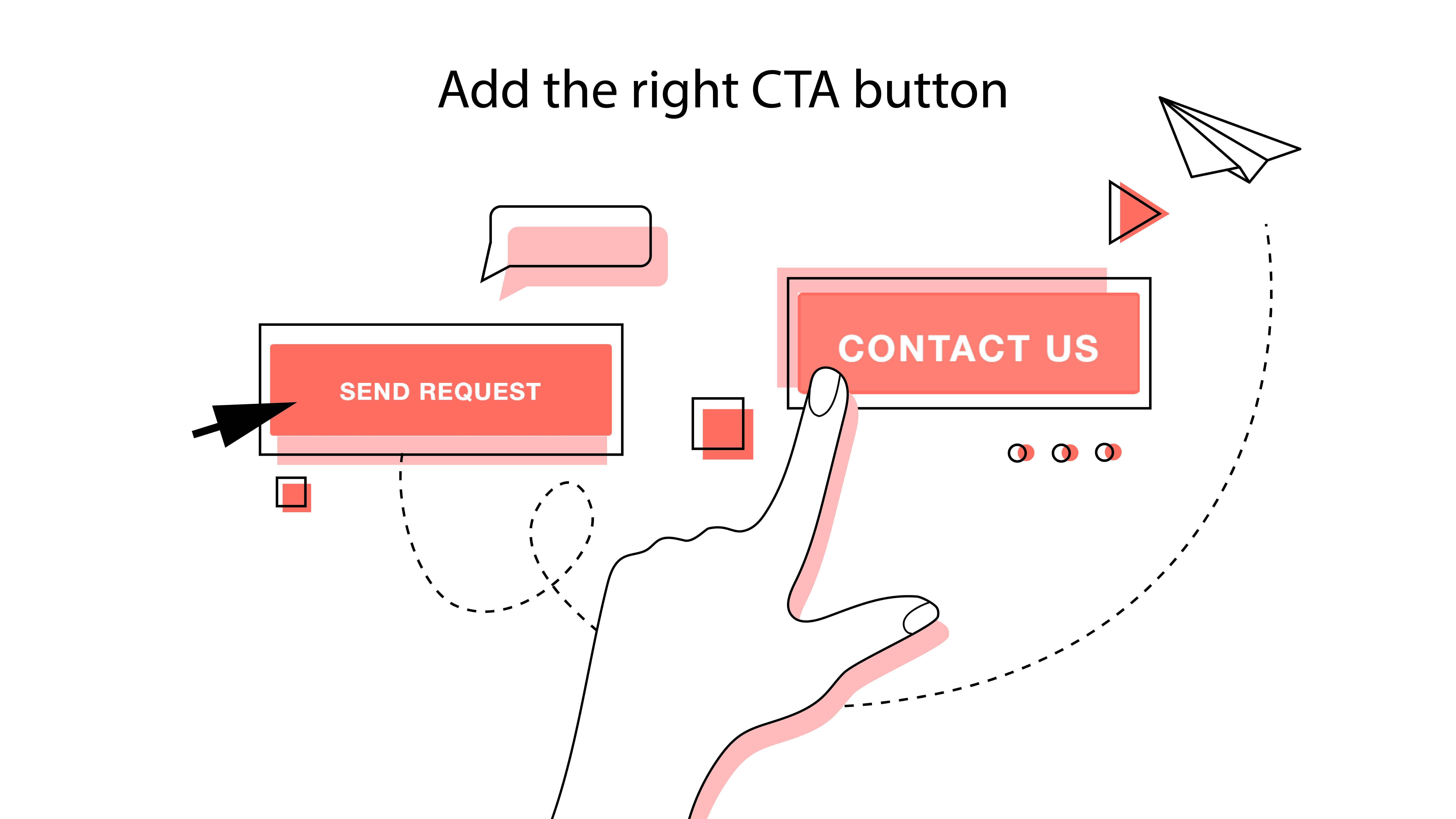right CTA buttons will make a web design improvement