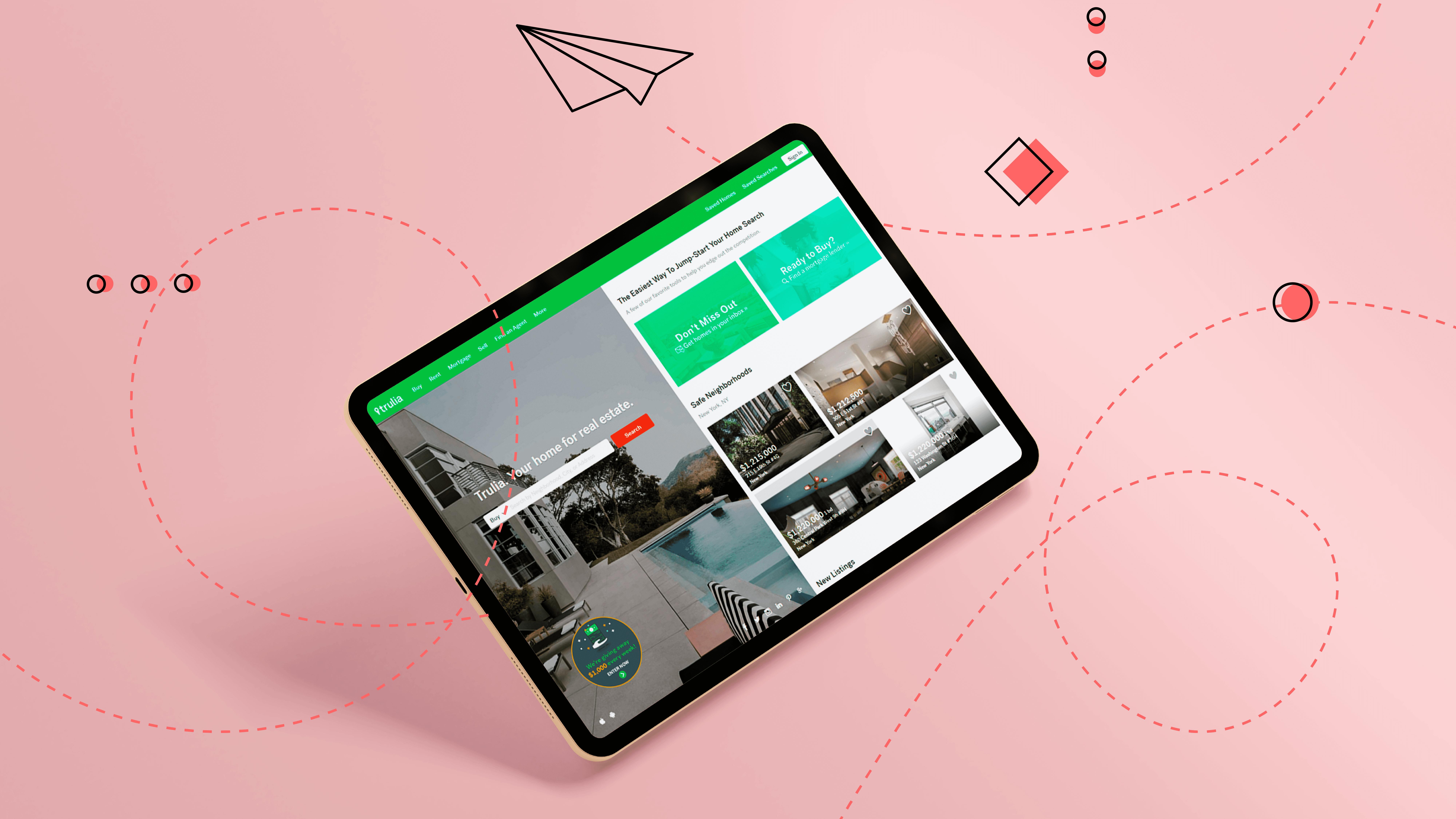 Real Estate Mobile App Design Tips